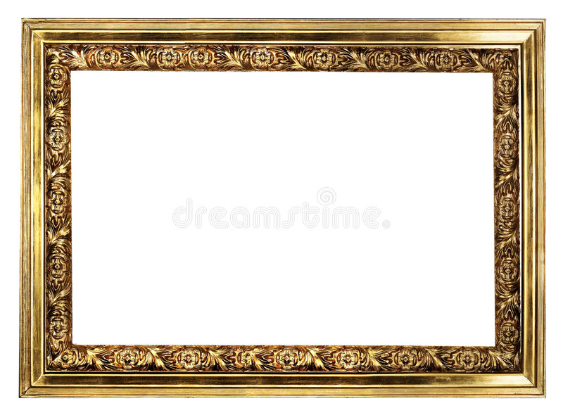 Download Golden Frame Royalty Free Stock Photos - Image: 6054498