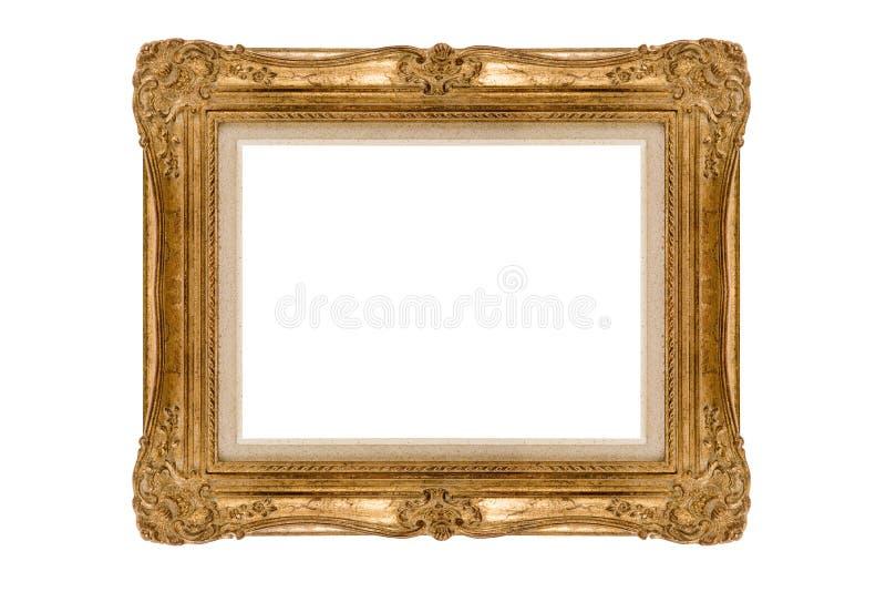 Download Golden frame stock photo. Image of retro, gold, aged, golden - 6839148
