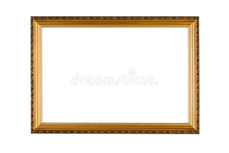 Golden Frame stock image