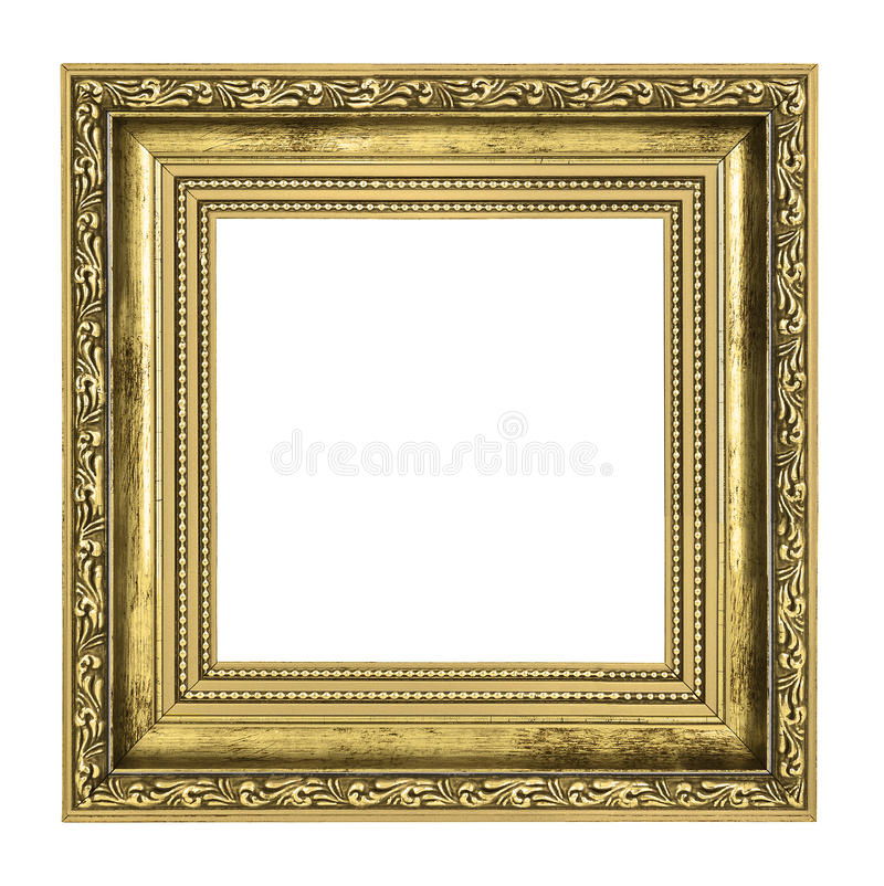 Download Golden Frame With Thick Border Stock Image - Image: 32315147
