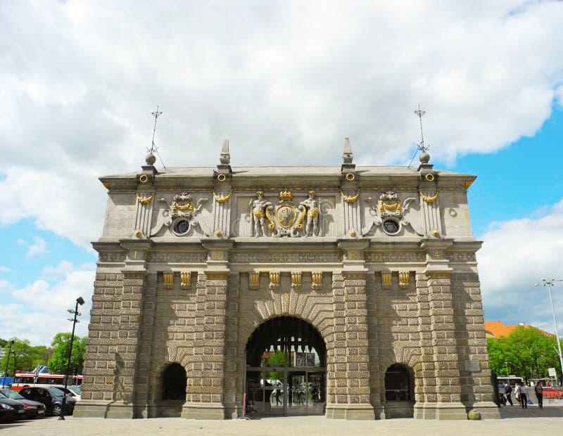 Golden Gate à Danzig, Pologne photos stock