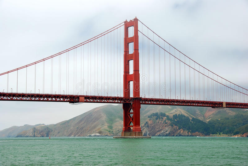 Download Golden Gate stock image. Image of cable, francisco, color - 15612347