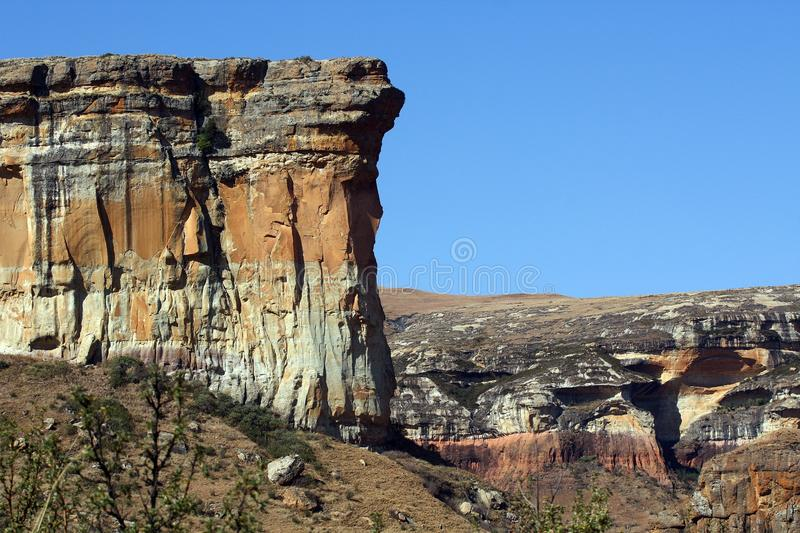 Golden Gate. The Golden Gate National Park, South Africa stock images