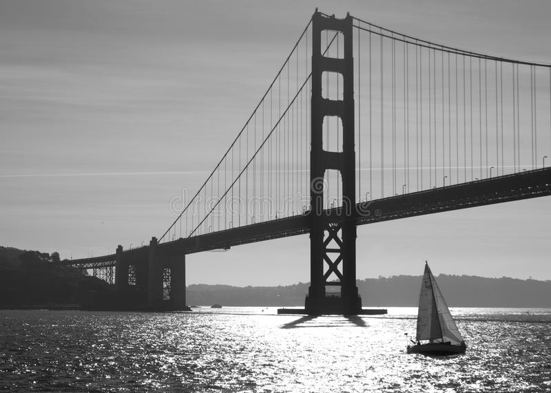 Golden Gate royaltyfria bilder
