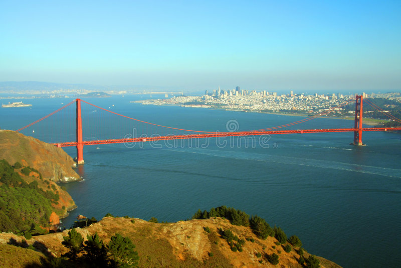 Download Golden Gate bridge stock image. Image of scenic, landmark - 2302219