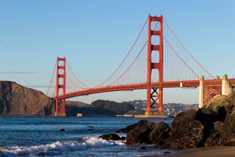 Golden gate bridge royalty-vrije stock fotografie