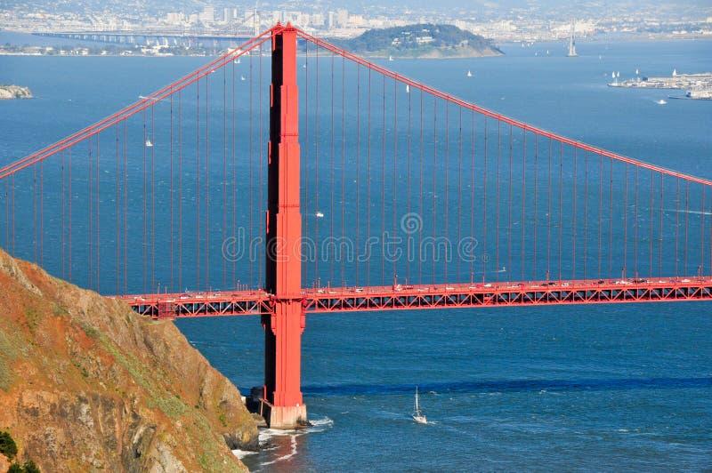 Golden gate bridge royaltyfria bilder