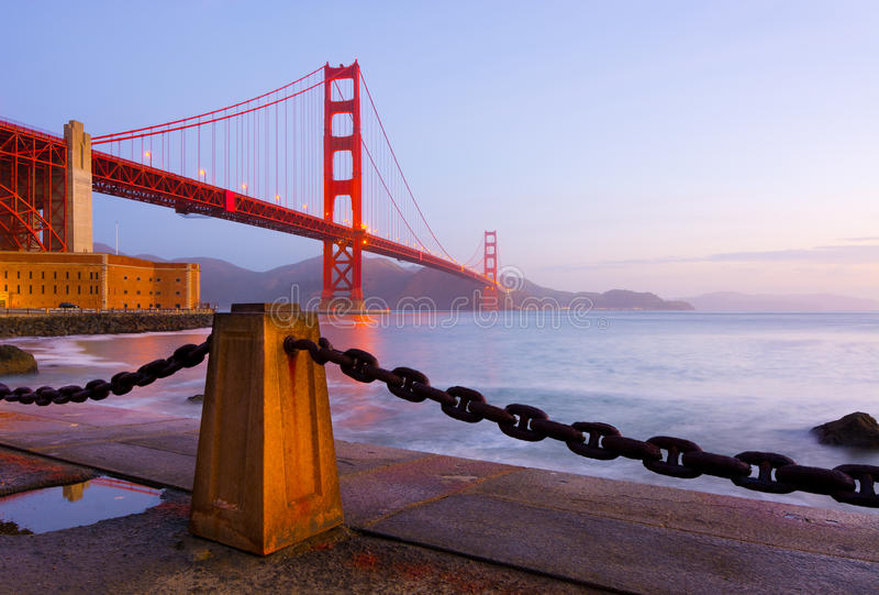 Golden gate bridge arkivbilder