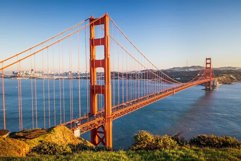 Golden gate bridge fotografie stock
