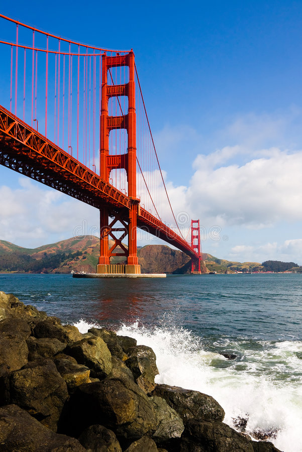Download Golden Gate Bridge stock photo. Image of pacific, hill - 5172232