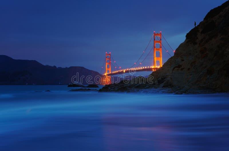 Golden Gate Bridge at Baker Beach, San Francisco, California, USA. Golden Gate Bridge at Baker Beach, San Francisco, California,USA royalty free stock image