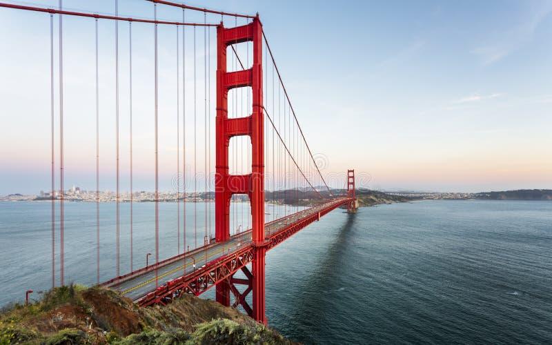 Golden gate bridge de point de vue images stock