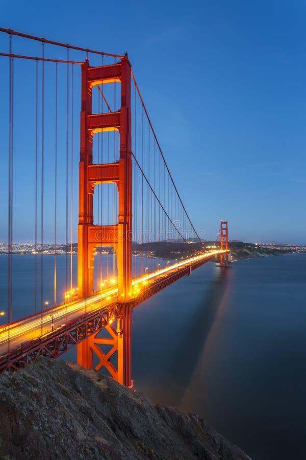 Golden gate bridge de point de vue photo libre de droits