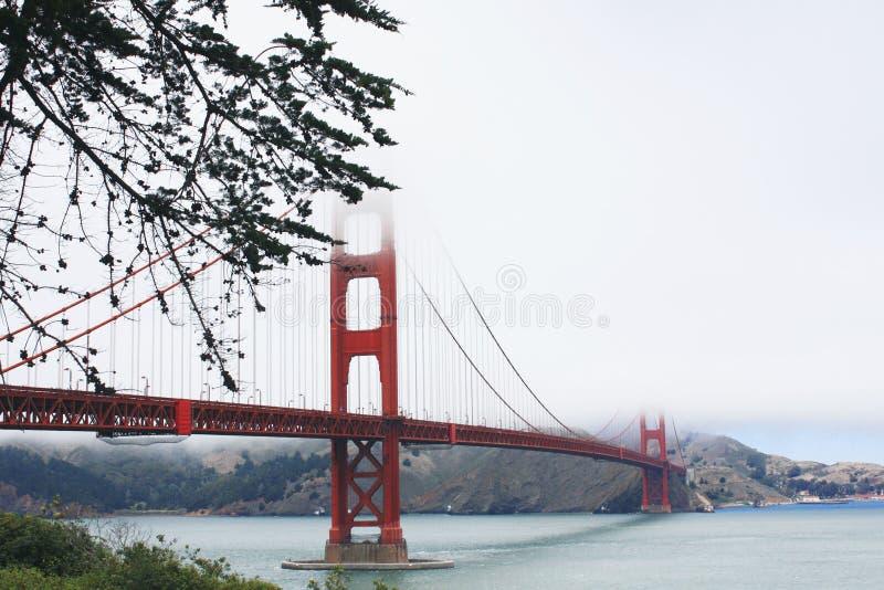 Golden Gate Bridge. royalty free stock photography