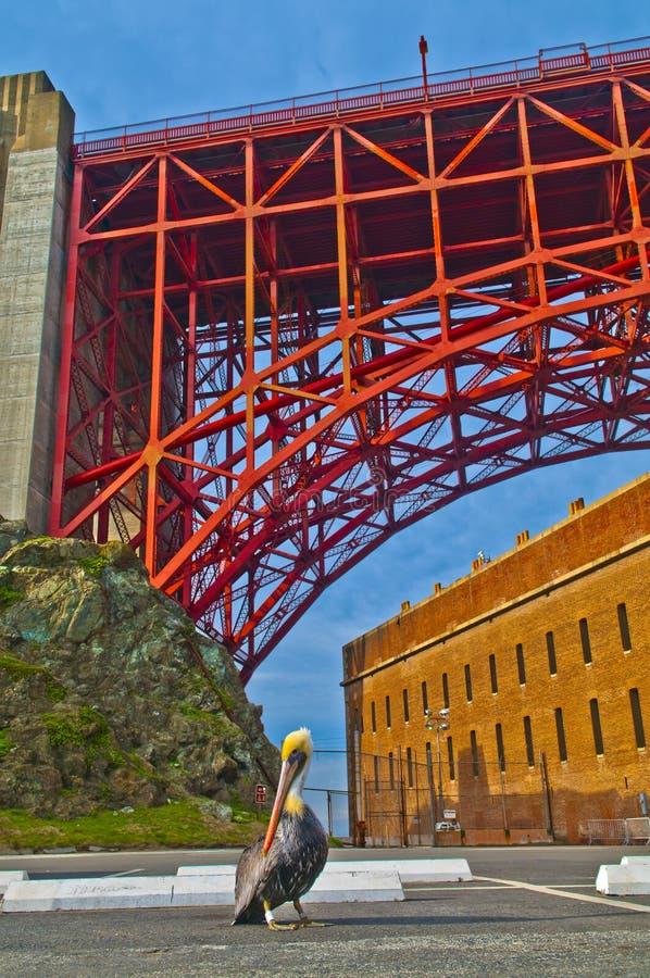 Golden Gate Bridge At Fort Point Stock Images