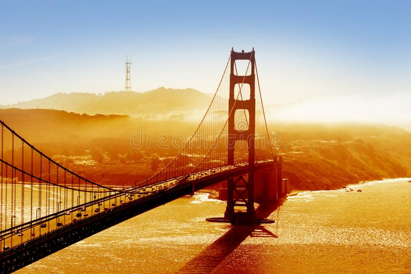 Download Golden Gate Bridge stock photo. Image of romantic, beauty - 102137962