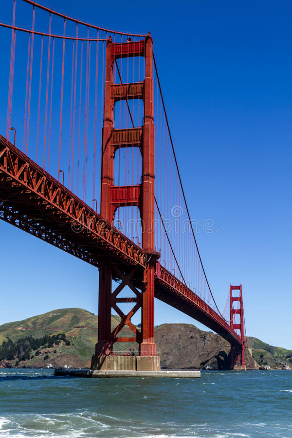 Golden gate bridge i San Francisco CA royaltyfria foton