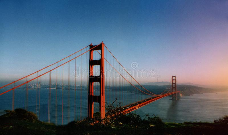 Golden Gate Bridge, New York royalty free stock image