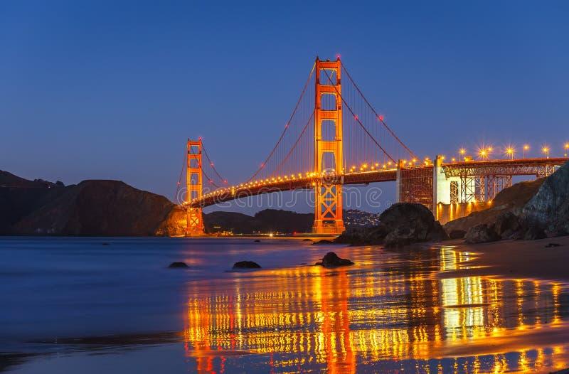 Download Golden Gate Bridge stock image. Image of evening, california - 35017567