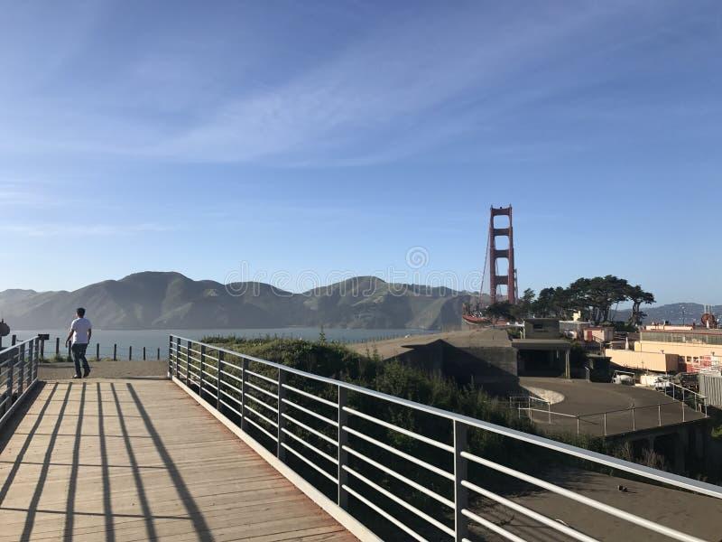 Golden Gate Bridge San Fran California royalty free stock images