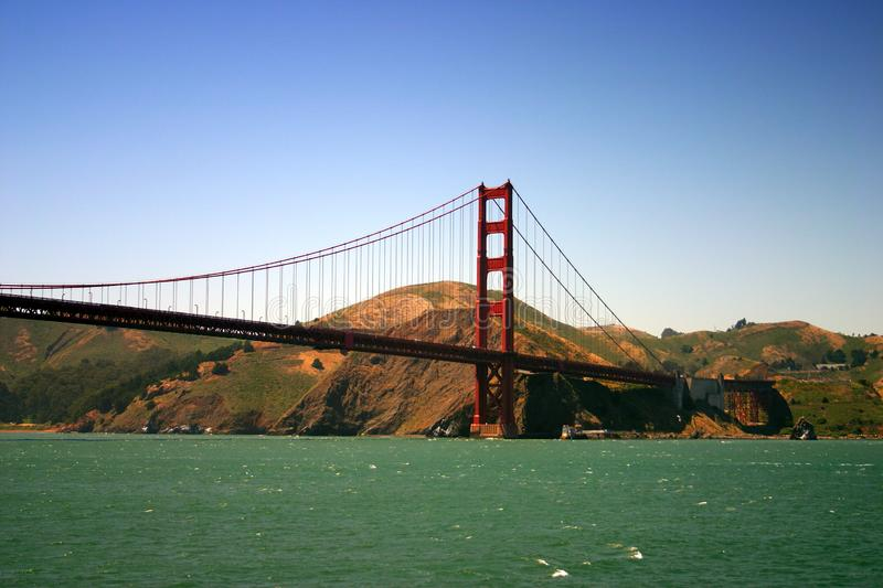 Golden gate bridge, San Francisco royalty-vrije stock foto