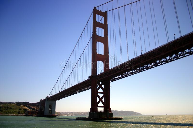 Golden gate bridge, San Francisco royalty-vrije stock foto's