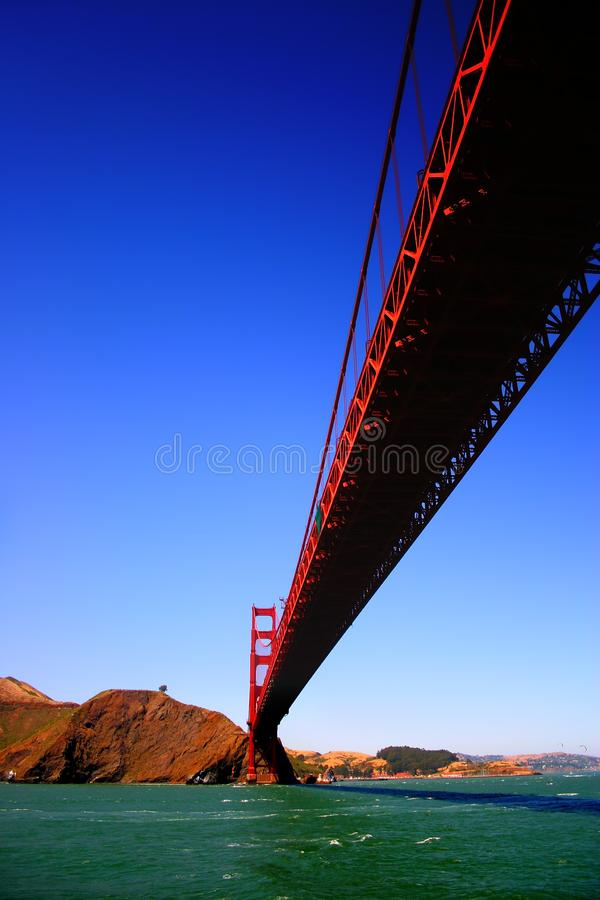 Golden gate bridge, San Francisco royalty-vrije stock afbeeldingen
