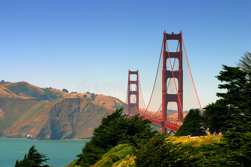 Download Golden Gate Bridge, San Francisco Stock Photo - Image: 1706172