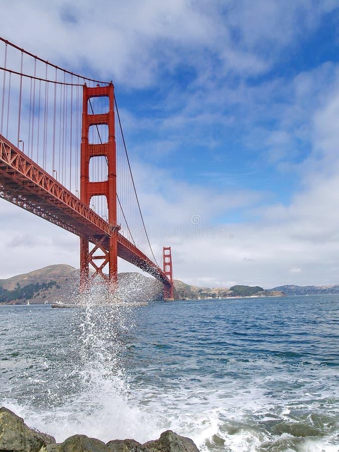 Golden Gate bridge of San Francisco royalty free stock photos