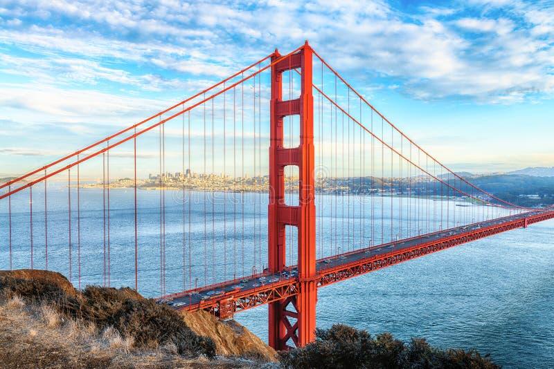 Golden gate bridge, San Francisco fotografia stock libera da diritti