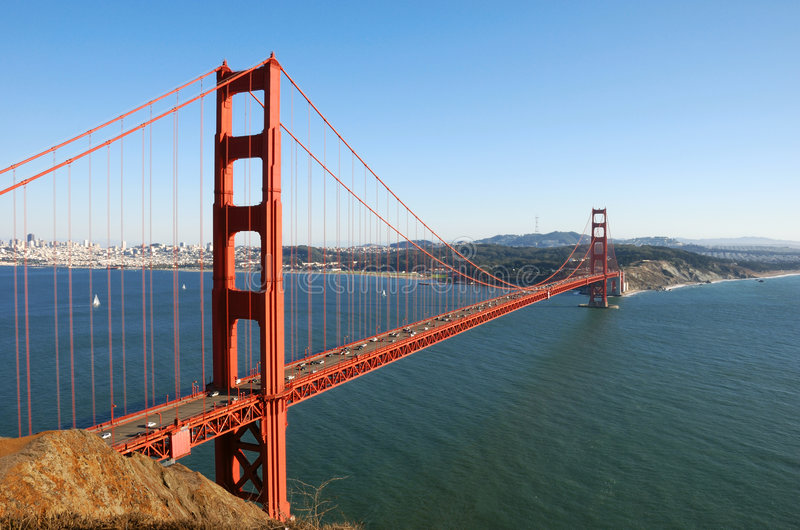 Download Golden Gate Bridge In San Francisco Stock Image - Image: 7449575