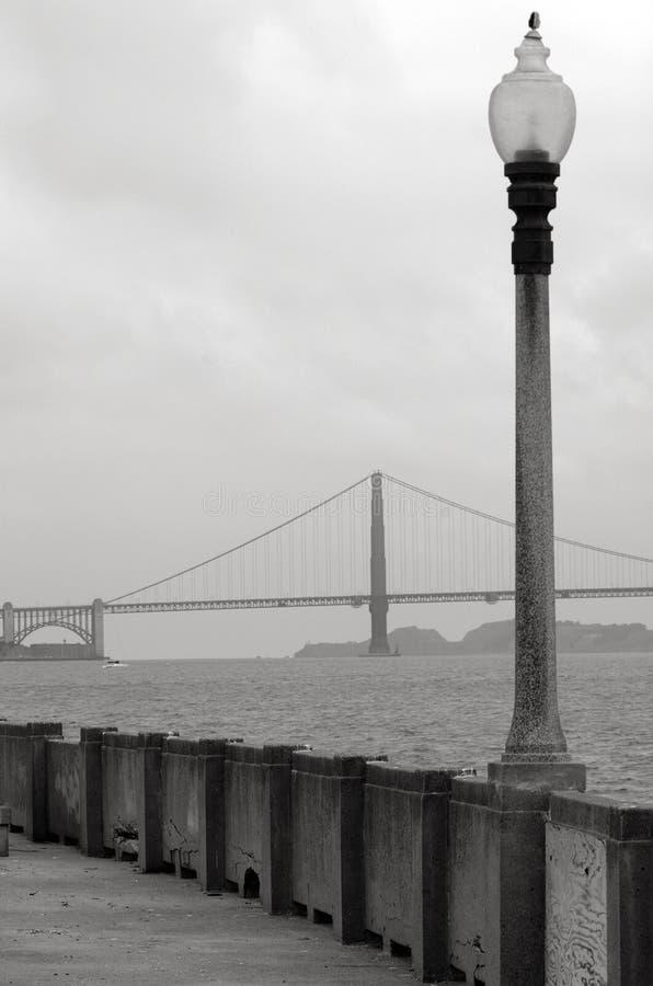 Golden gate bridge in San Francisco - CA lizenzfreie stockfotos