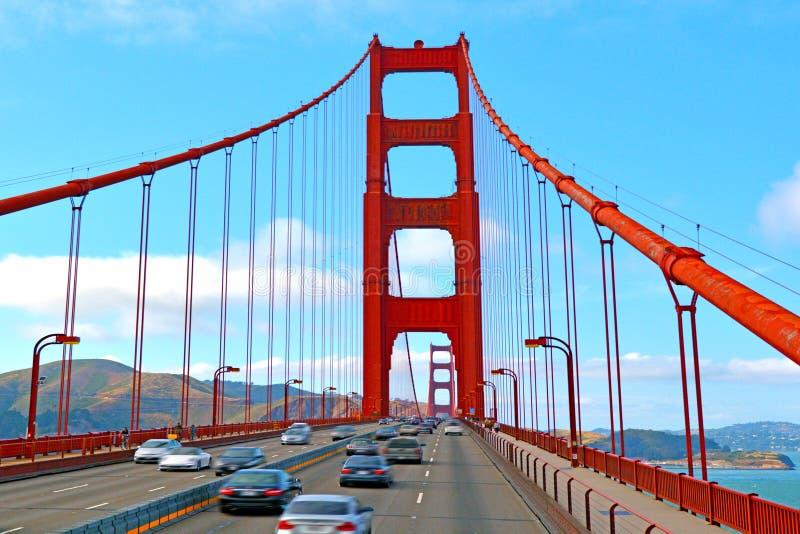 Golden gate bridge in San Francisco - CA lizenzfreie stockfotografie