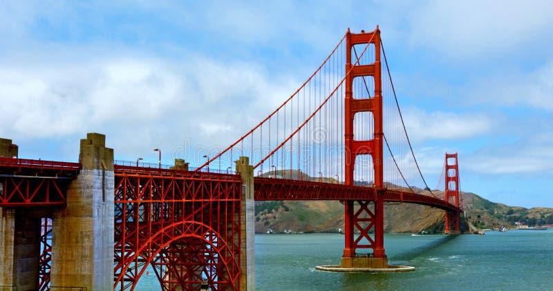 Golden gate bridge in San Francisco - CA stockfotografie