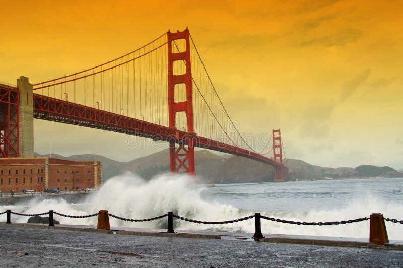 Golden gate bridge, san francisco, ca, usa stock image