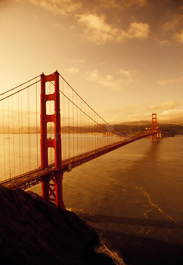 Golden Gate Bridge, San Francisco, California royalty free stock photos