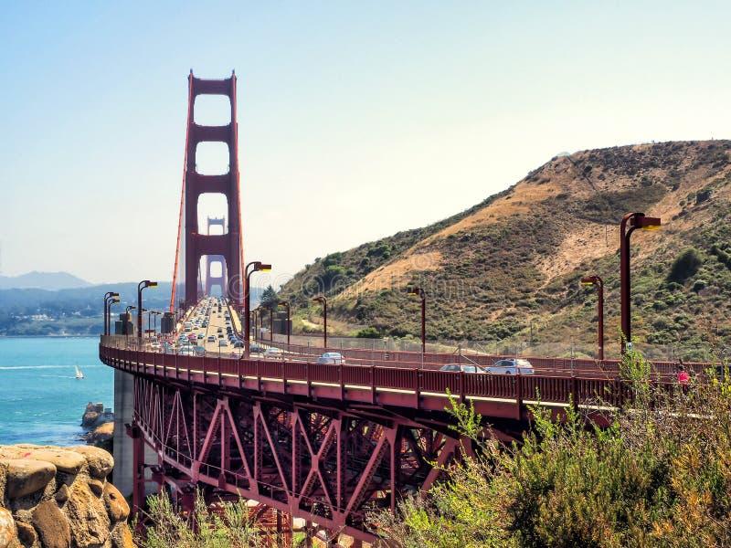 Golden gate bridge - San Francisco, California, CA fotografie stock libere da diritti