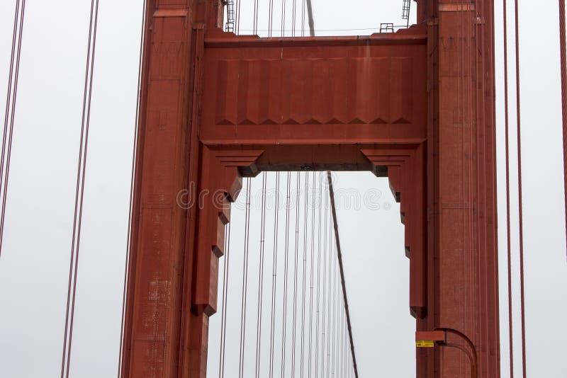 Golden Gate Bridge, San Francisco, California stock image