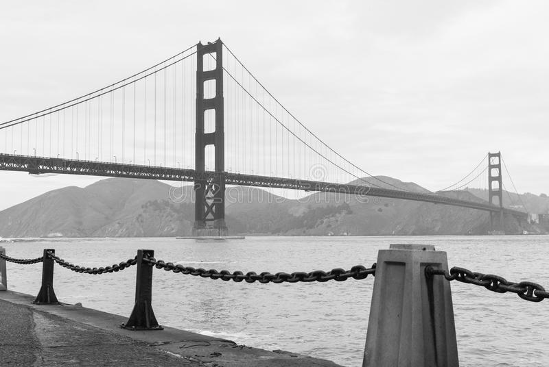 Golden Gate bridge. San Francisco, California USA royalty free stock photos
