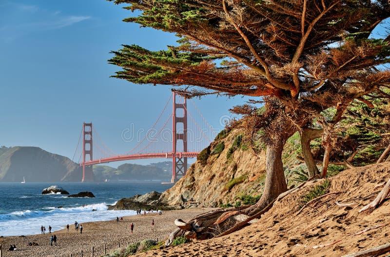 Golden Gate Bridge, San Francisco, California royalty free stock photo