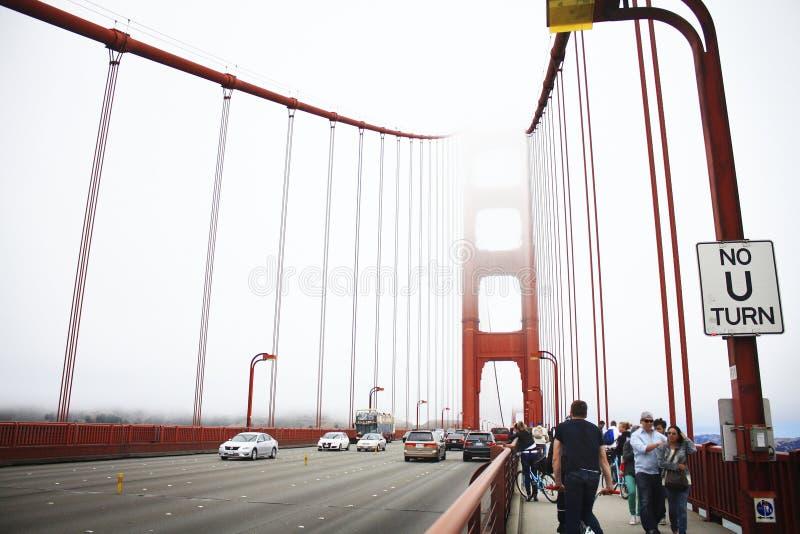 Golden gate bridge. royalty free stock photo