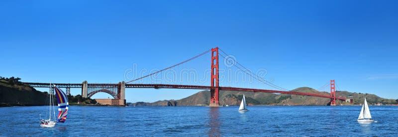 Golden gate bridge San Francisco, Kalifornien USA royaltyfri bild