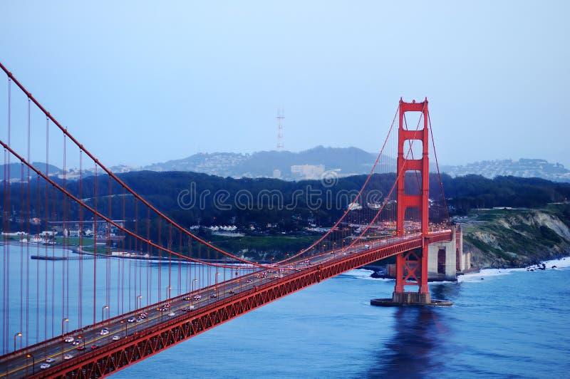 Golden gate bridge in San Francisco, Kalifornien, USA lizenzfreies stockfoto