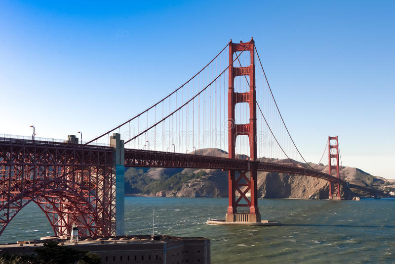 Golden Gate Bridge San Francisco stock photography