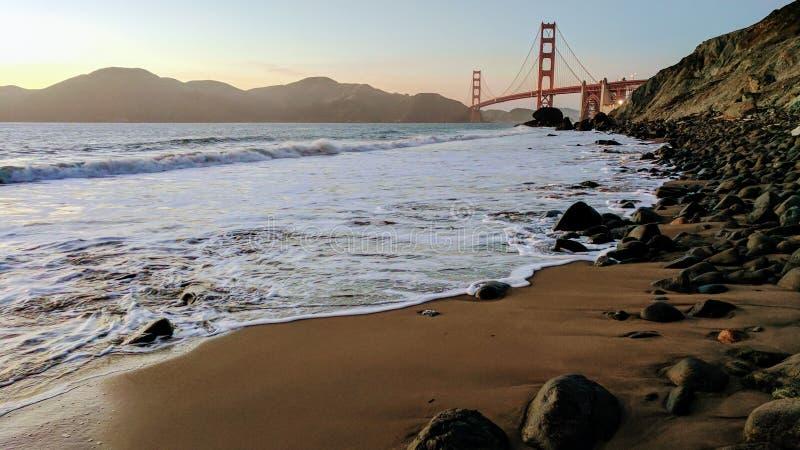 Golden Gate bridge in San Francisco royalty free stock photography