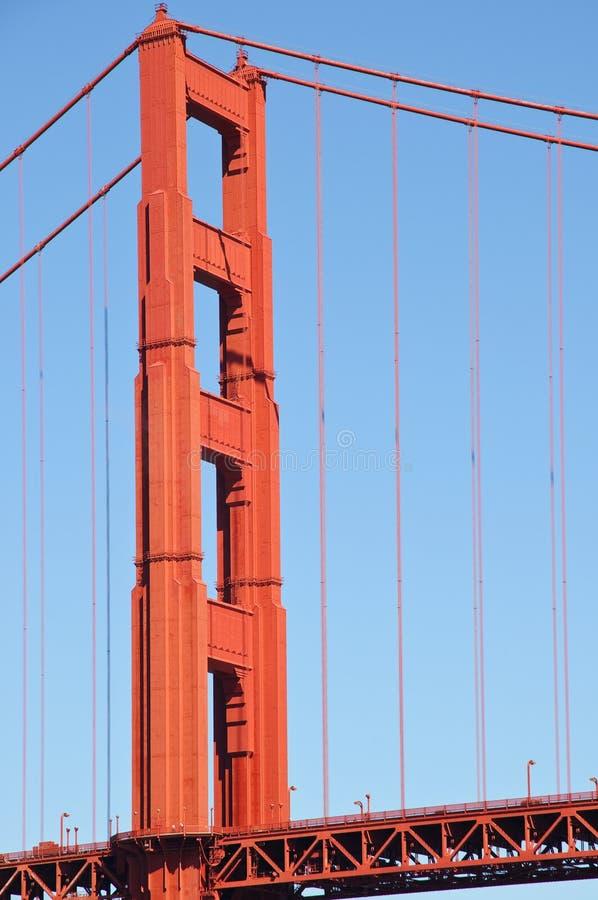 Free Golden Gate Bridge Tower Stock Photo - 6578620
