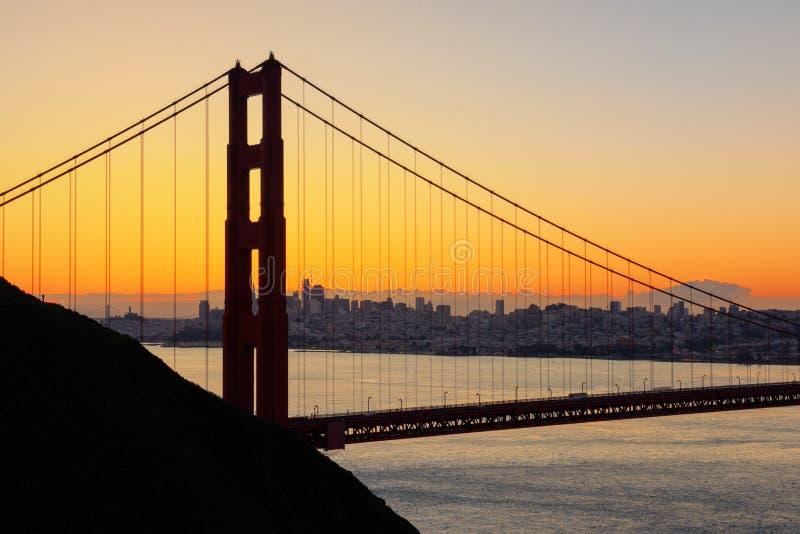 Golden Gate Bridge w San Fransisco, usa zdjęcie stock