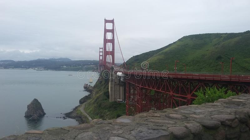 Golden Gate Brighe images libres de droits