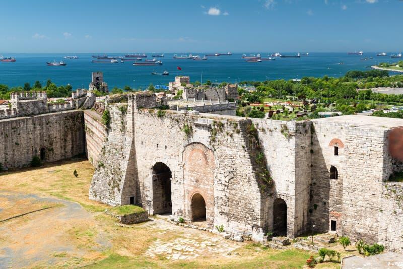 Golden Gate célèbre de Constantinople à Istanbul, Turquie images stock