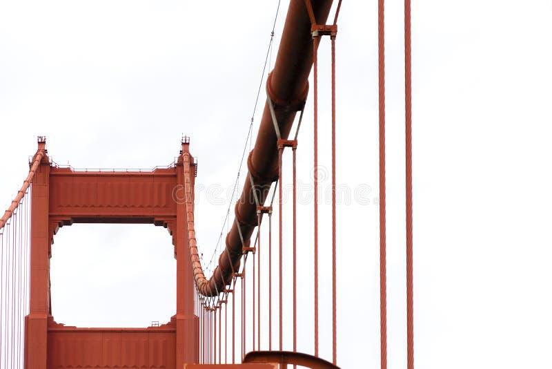 Golden Gate filar obraz royalty free